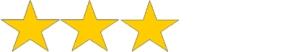 3 Stars White