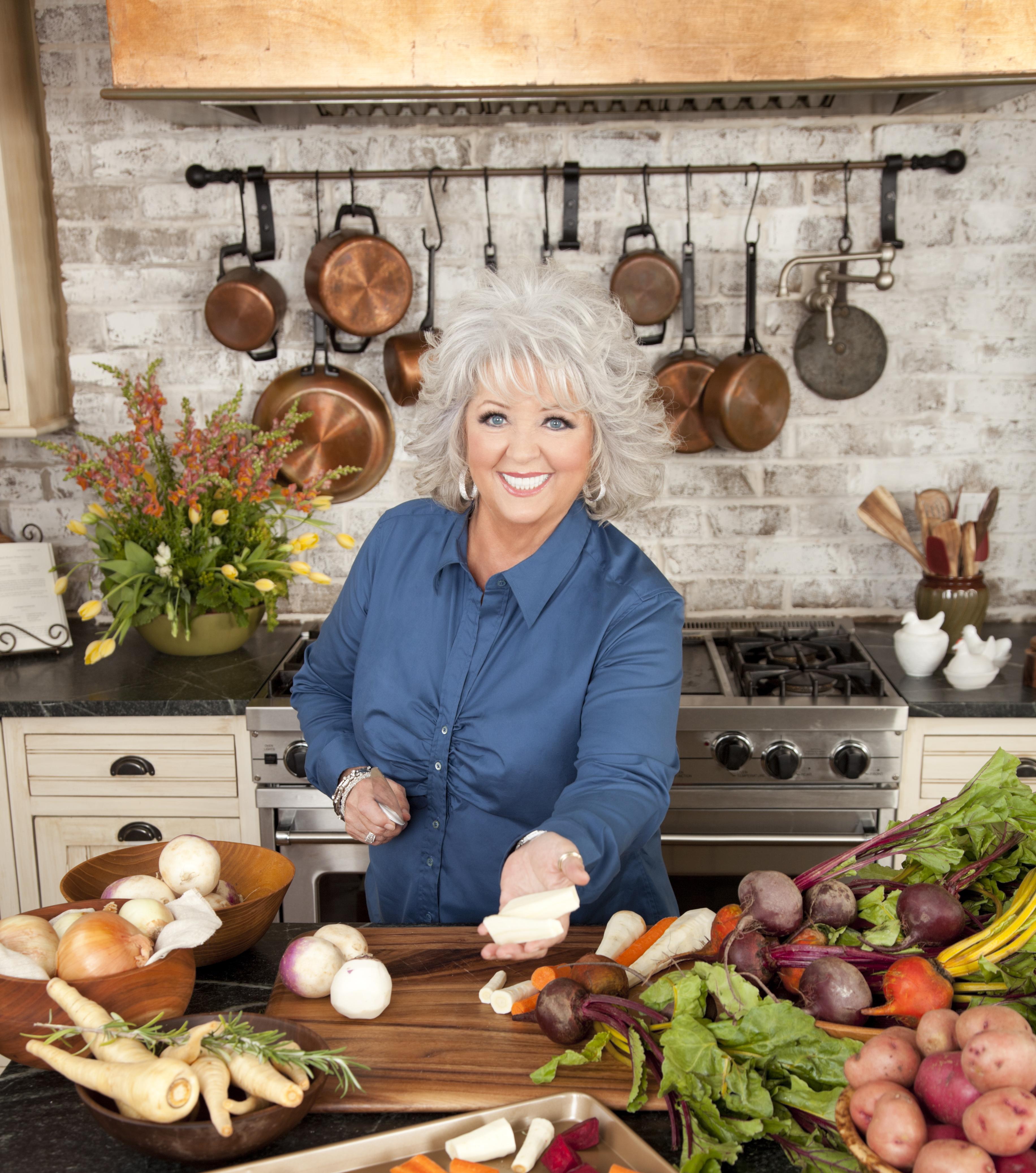Paula Deen Eating Food - Viewing Gallery